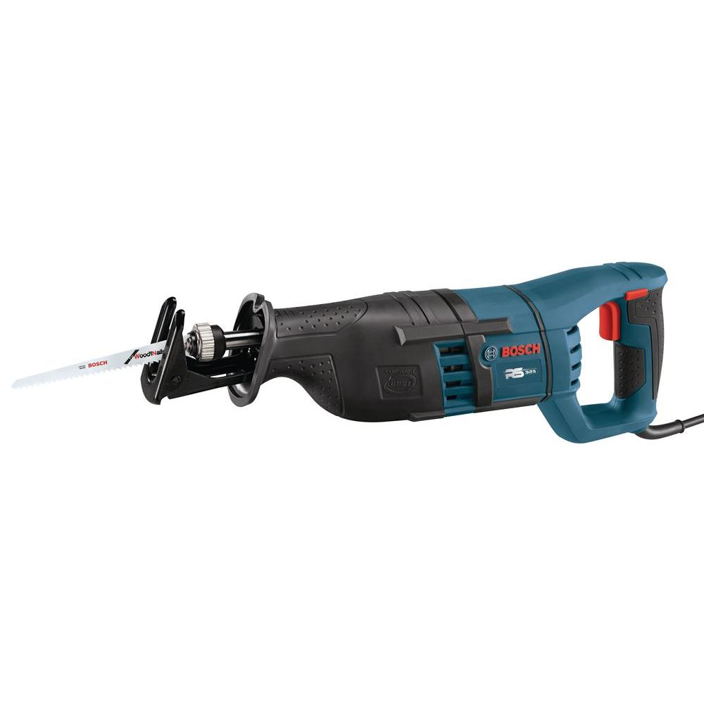 Bosch Factory Reconditioned Corded Variable Speed Reciprocating Saw with Carrying Bag