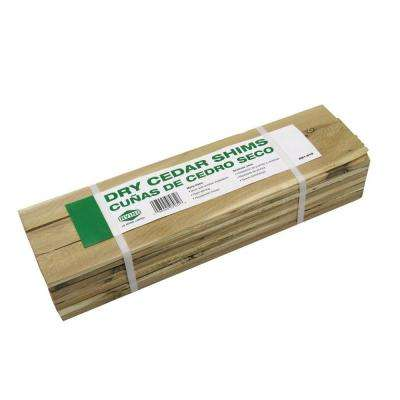 15 in. Cedar Contractor Shim (42-Pack)