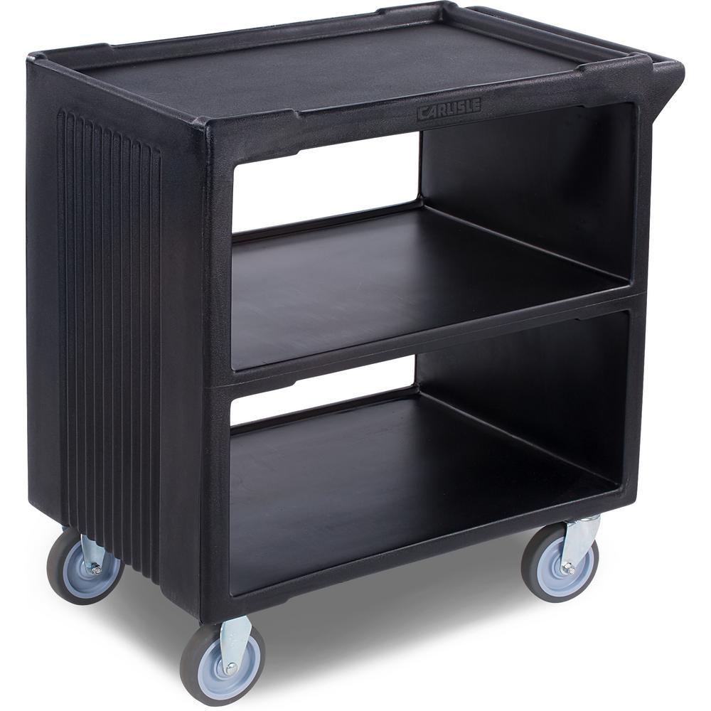 Black Service Cart