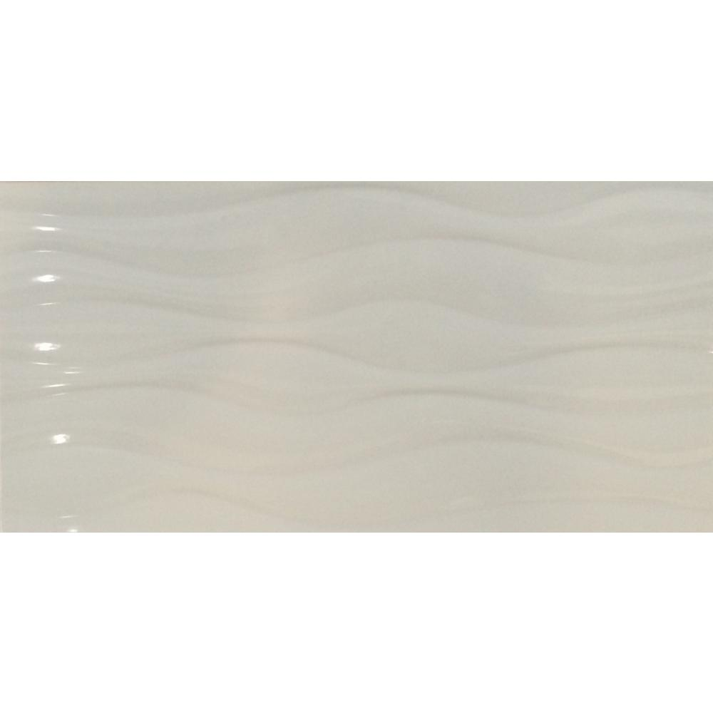 MSI Pacific White 12 in. x 24 in. Glazed Ceramic Floor and Wall Tile