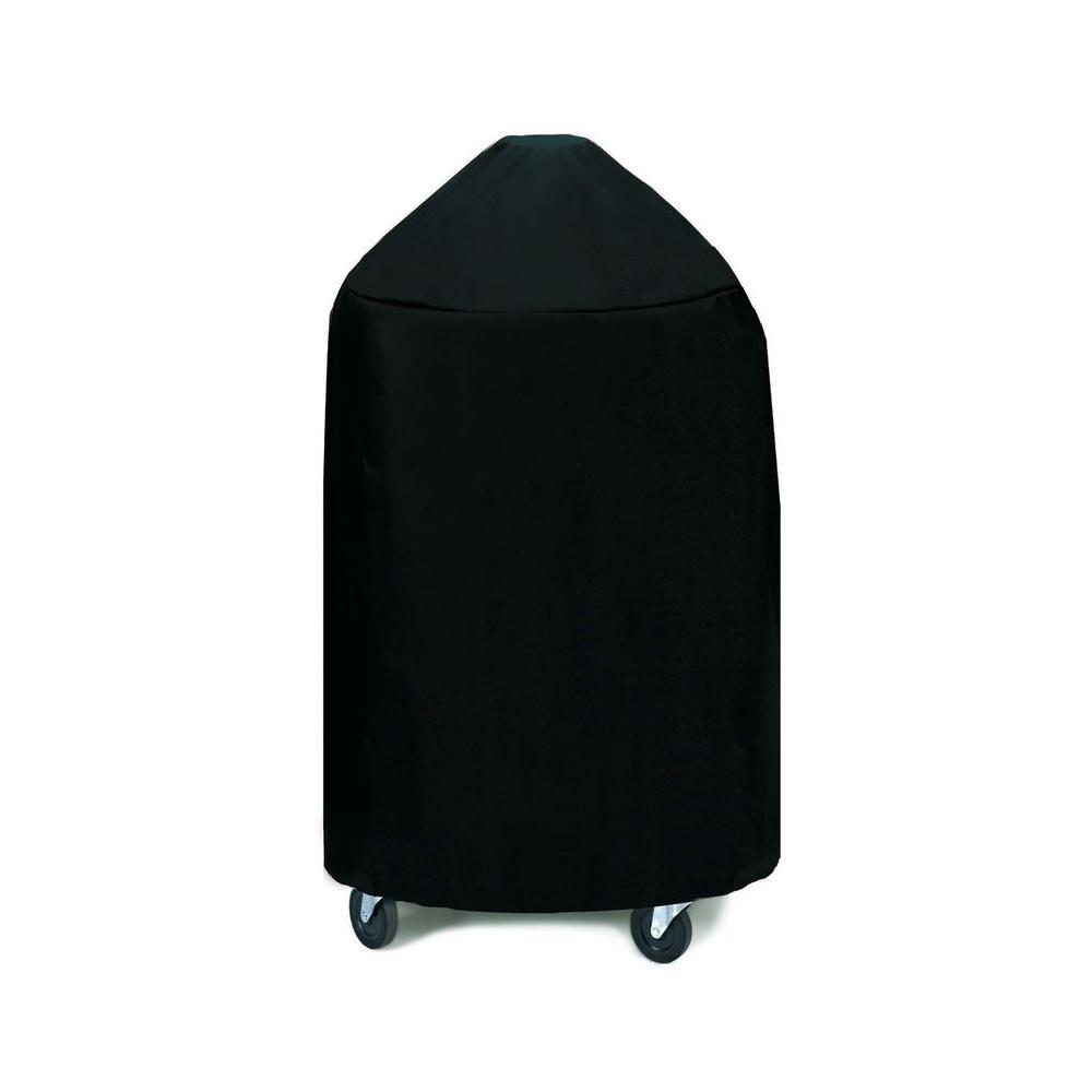 WeatherReady Medium Round Grill/Smoker Cover, Black-DISCONTINUED