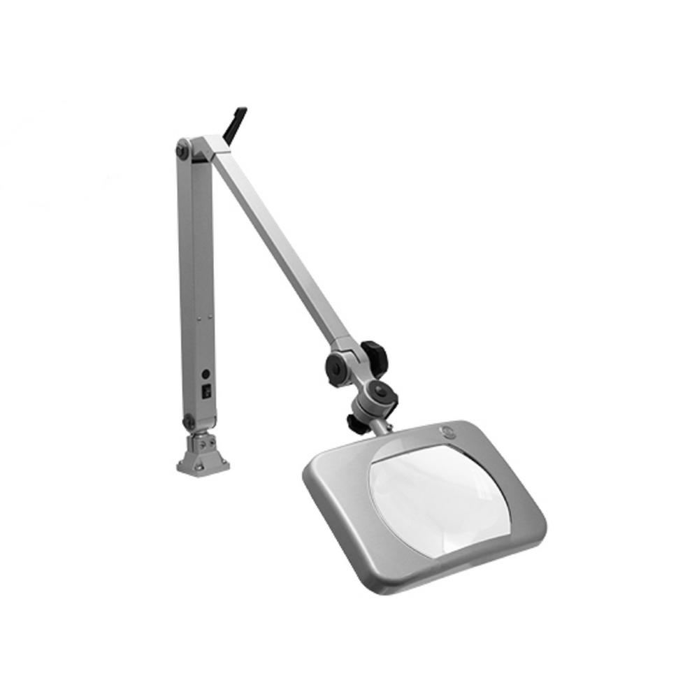 Mighty Vue Deluxe 36 in. Mettalic Magnifying Lamp LED-26505-DSG ...