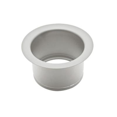 Extended 2-1/2 in. Disposal Flange or Throat for Fireclay Sinks and Shaws Sinks in Stainless Steel