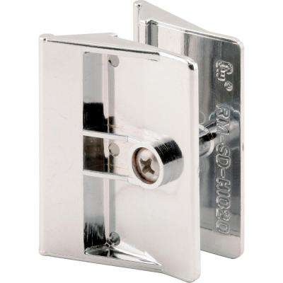 Chrome Shower Door Handle Set
