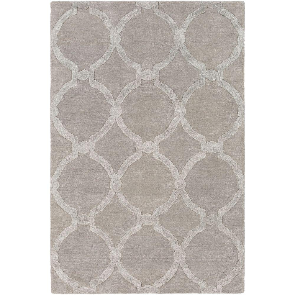 Urban Lainey Gray 8 ft. x 10 ft. Indoor Area Rug