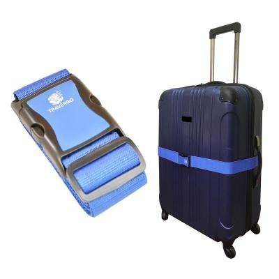 Luggage Strap Solid Color in Blue
