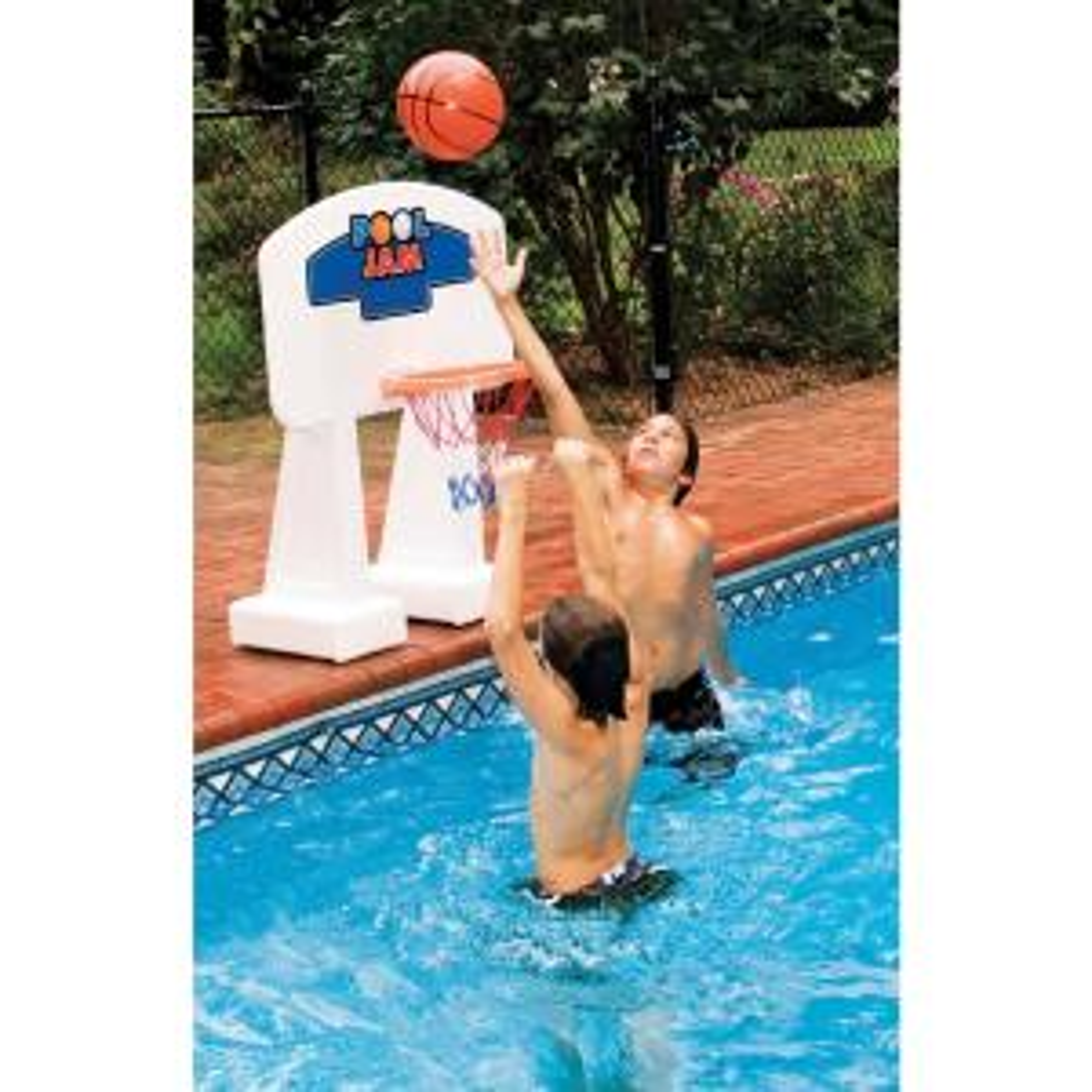 Swimline Pool Jam In-Ground Water Basketball Game by Swimline