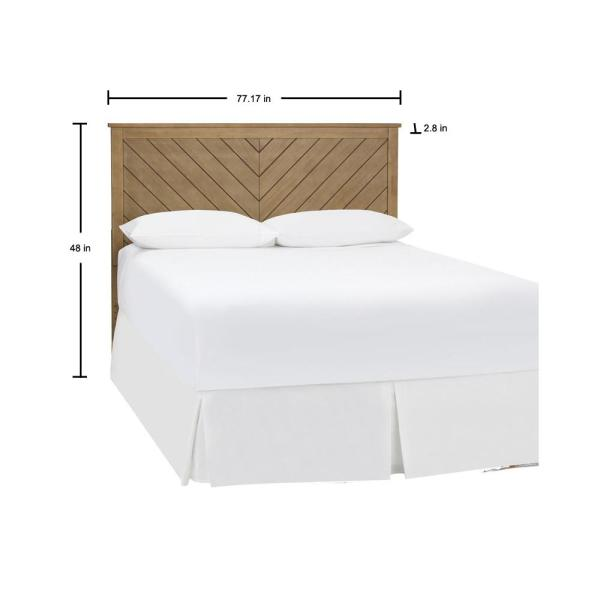 Stylewell Fergus Patina Finish King, Width Of Headboard For Queen Size Bed