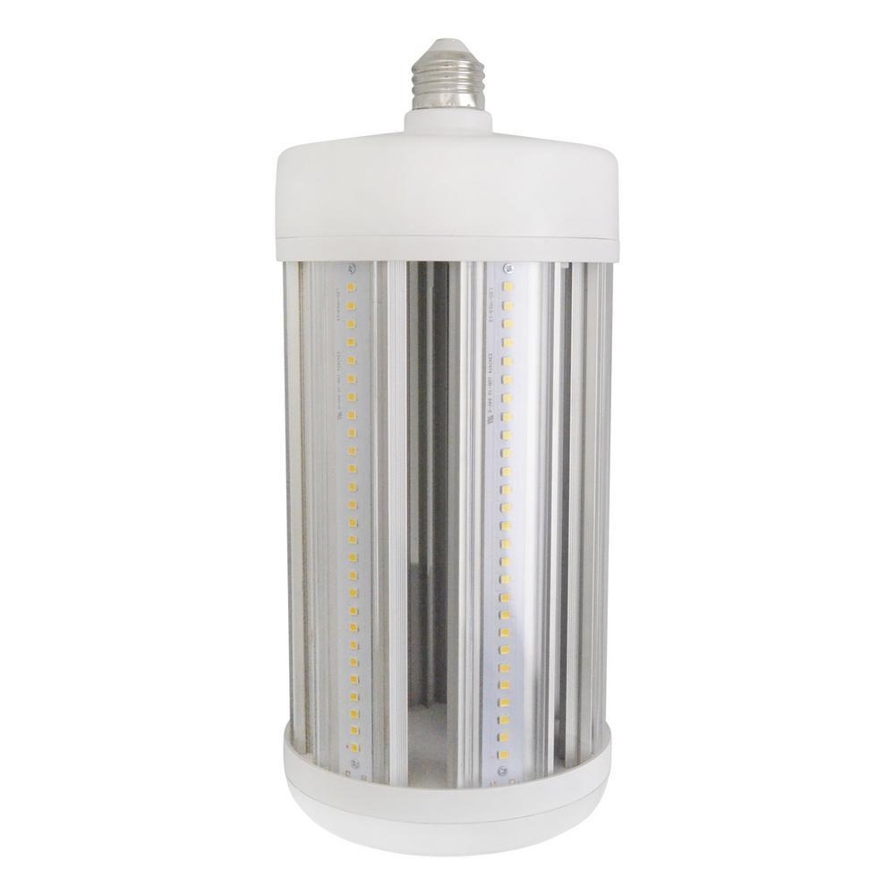 500 Watt Equivalent E26 Corn Cob Non-Dimmable LED High Lumen Daylight (5000K) Utility Light LED Light Bulb