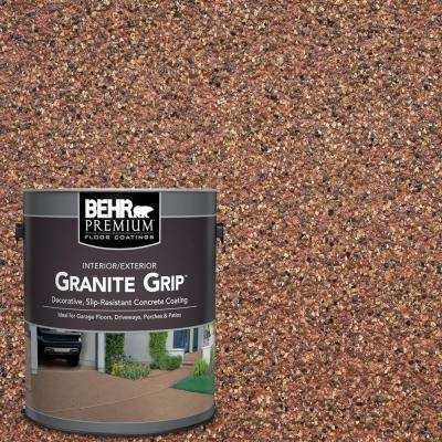 1 gal. #GG-09 Sunset Ridge Decorative Flat Interior/Exterior Concrete Floor Coating