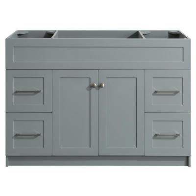 Hamlet 48 in. W x 21.5 in. D x 33.5 in. H Bath Vanity Cabinet Only in Gray