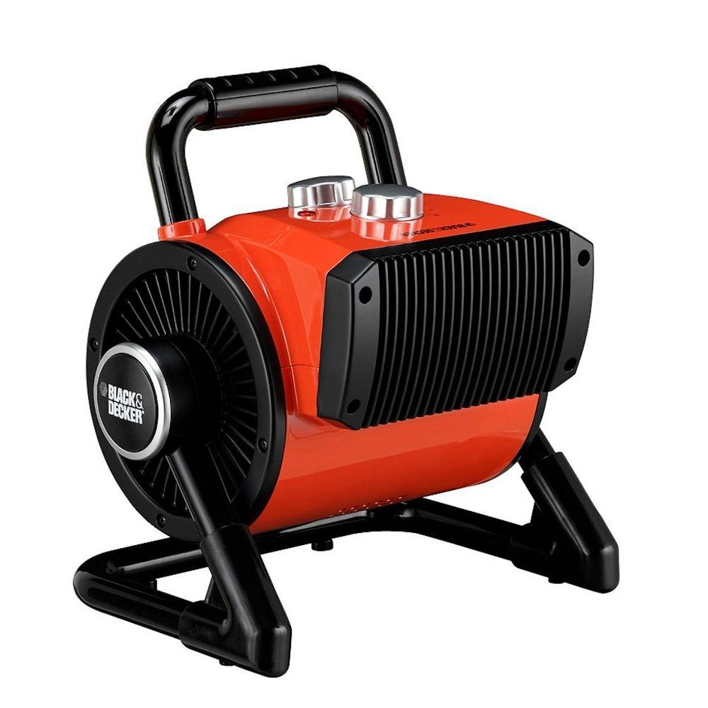 BLACK+DECKER 1500-Watt Utility Ceramic Blow Fan Heater