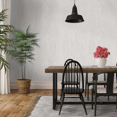 Repeel Removable Textured Woodgrain Grey Wallpaper