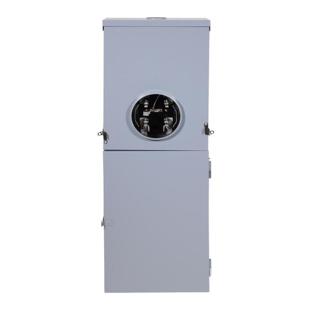 Power Mark Gold 200 Amp 20-Space 40-Circuit Meter Socket Load Center