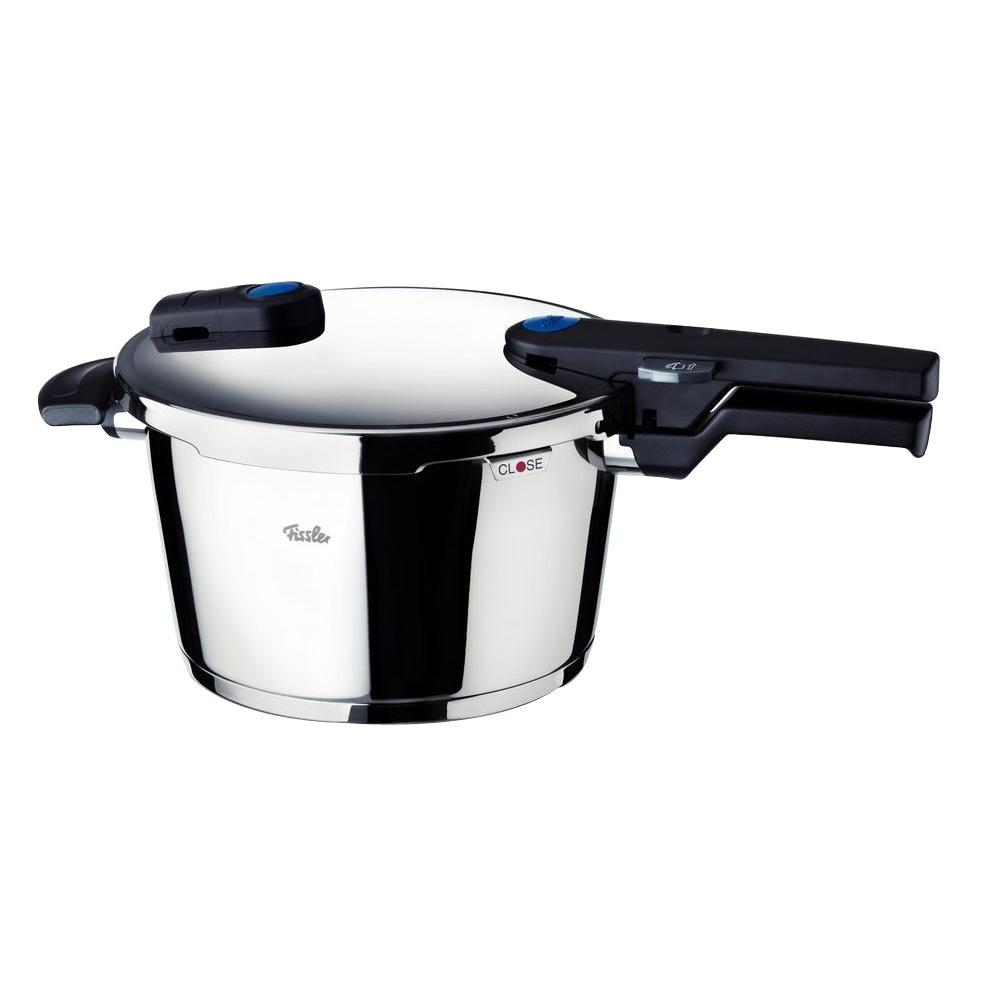 Fissler Vitaquick 22 cm / 8.7 in., 4.5 l / 4.8 qt. Pressure Cooker with Perforated Inset
