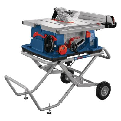 10 in. Worksite Table Saw with Gravity-Rise Stand