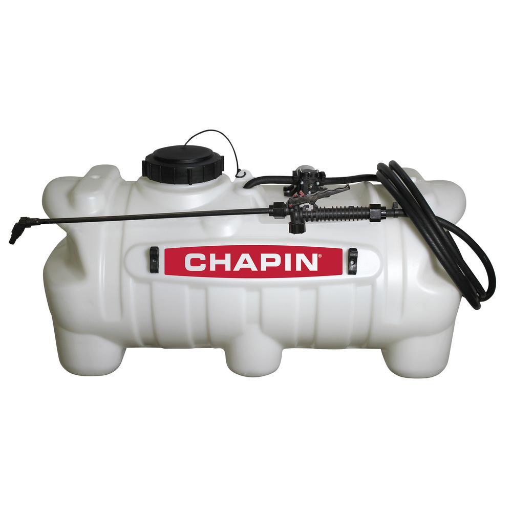 CHAPIN 25 Gal. 12-Volt EZ Mount Spot Sprayer for ATV's UT...