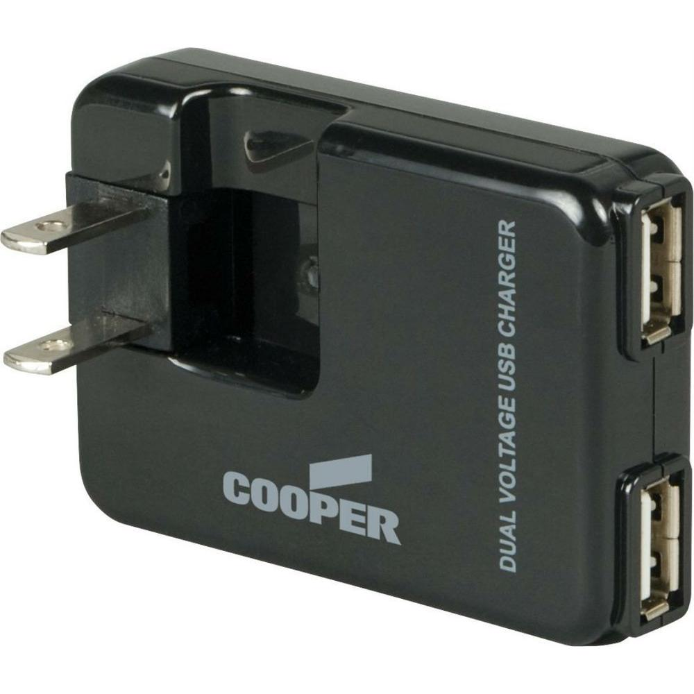 2-Port USB Charger Adapter