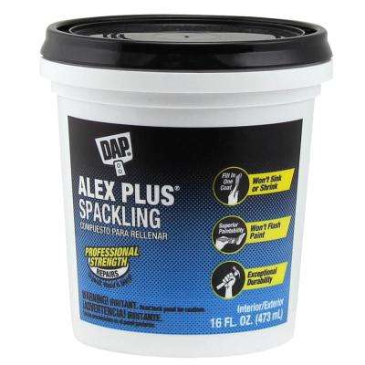 Alex Plus 16 oz. High Performance Spackling Paste (12-Pack)