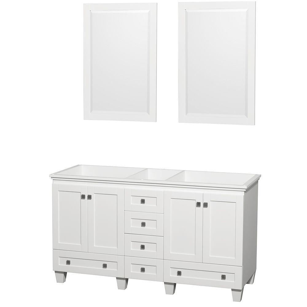 60 bathroom vanity cabinet wyndham collection acclaim 60 in vanity cabinet 10338