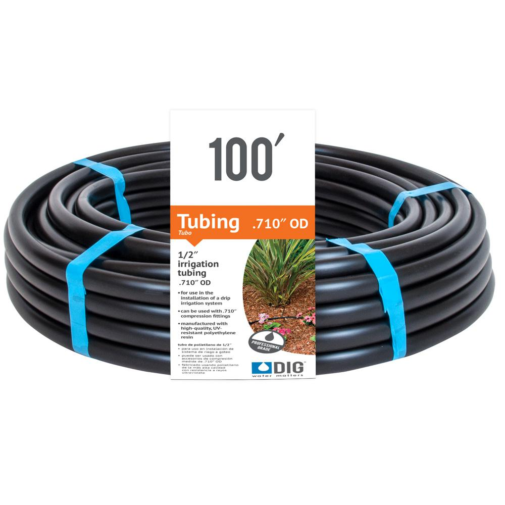 1/2 in. x 100 ft. Irrigation Tubing