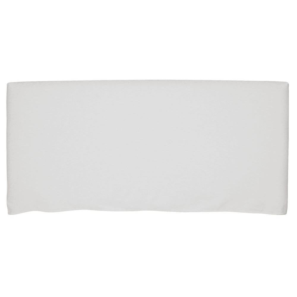 Bernese White California King Headboard