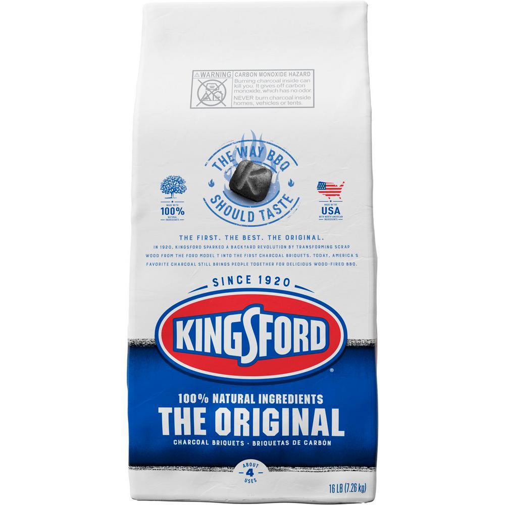 Kingsford 16 Lbs Original Charcoal Briquettes 4460032103