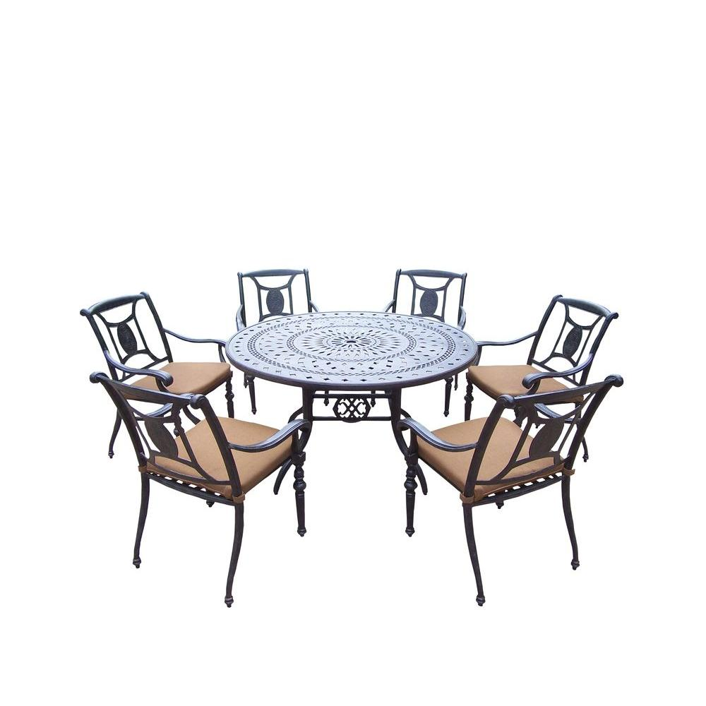 Sunbrella dining sets home design ideas and pictures for Home design 6 piece patio set