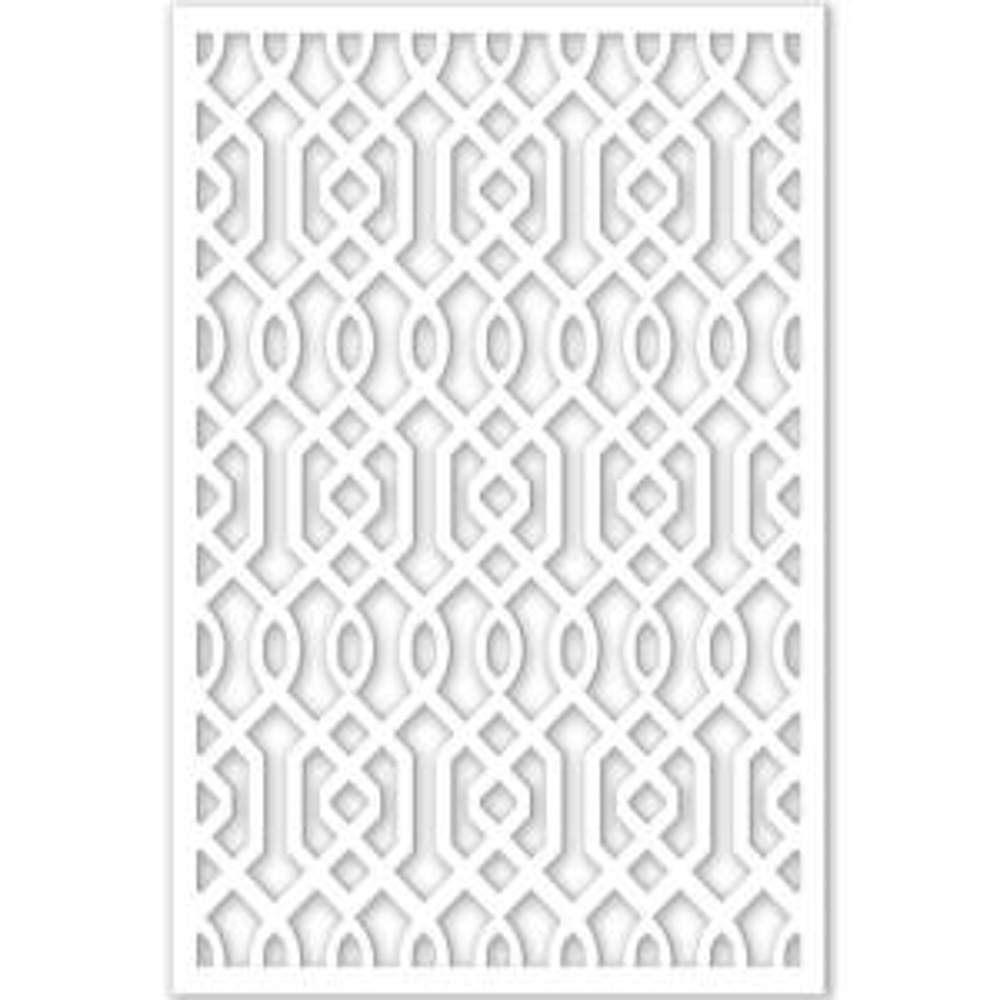 acurio latticeworks 1 4 in x 32 in x 4 ft white vinyl azzaria decor panel 3248pvc w azz the. Black Bedroom Furniture Sets. Home Design Ideas