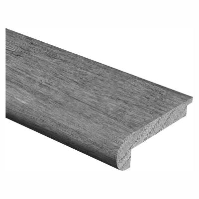 Strand Woven Bamboo Berkshire/Chai 1/2 in. Thick x 2-3/4 in. Wide x 94 in. Length Hardwood Stair Nose Molding Flush