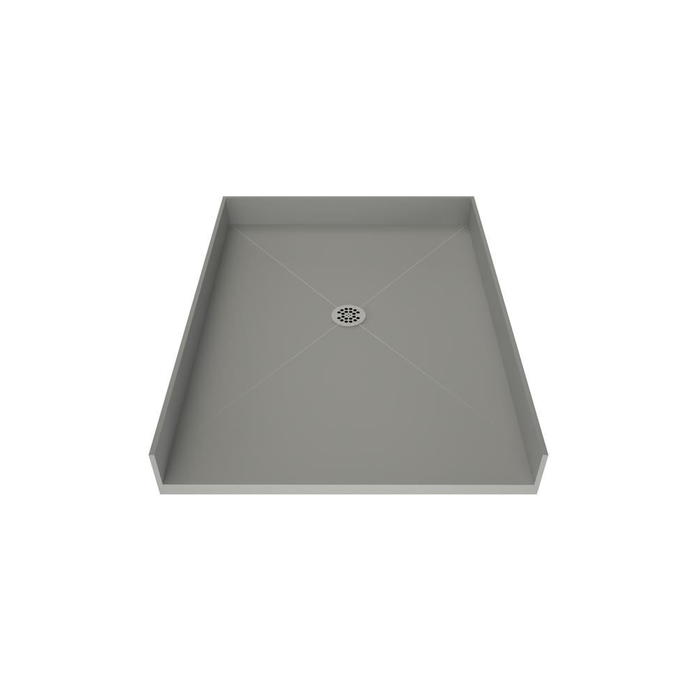 Tile Redi Redi Free 46 in. x 37 in. Barrier Free Shower Base with Center Drain