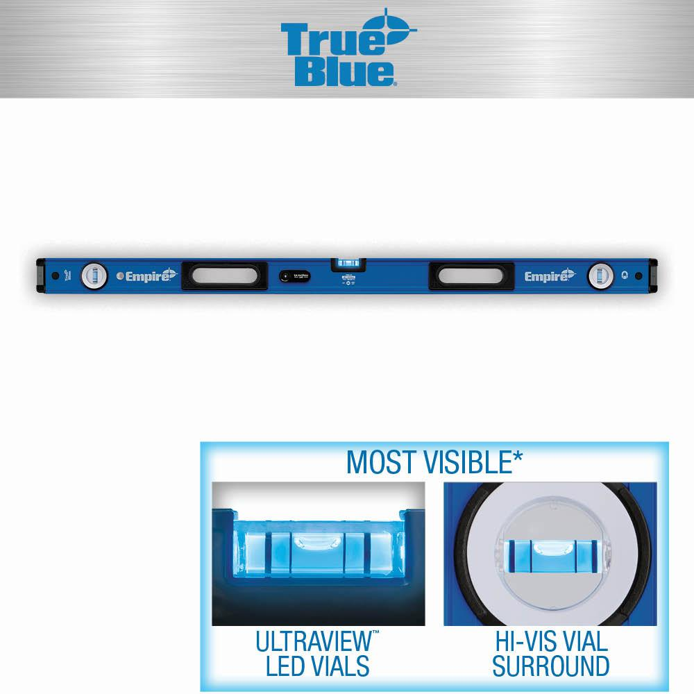Empire 48 in  UltraView LED Magnetic Box Level