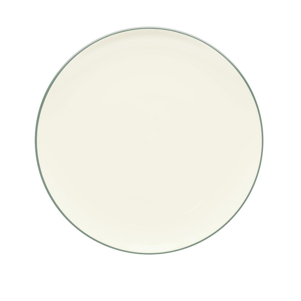 Colorwave 10.5 in. Green Coupe Dinner Plate