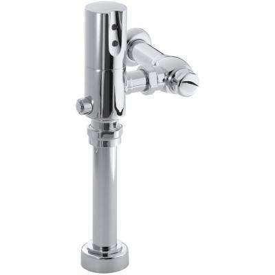 Tripoint Touchless DC Toilet 1.28 GPF Flushometer Valve in Polished Chrome