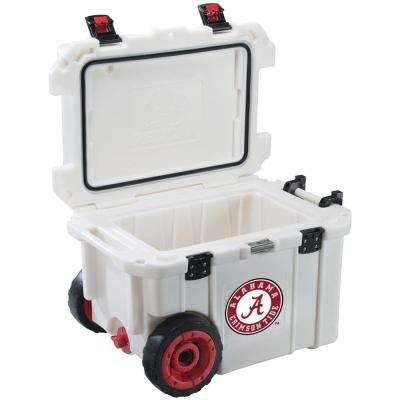 45 Qt. University of Alabama Crimson Tide Elite Wheeled Cooler