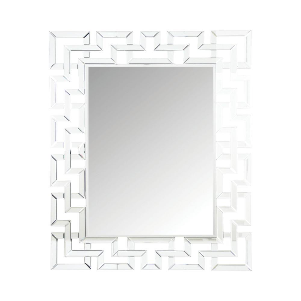 Osian Silver Wall Mirror