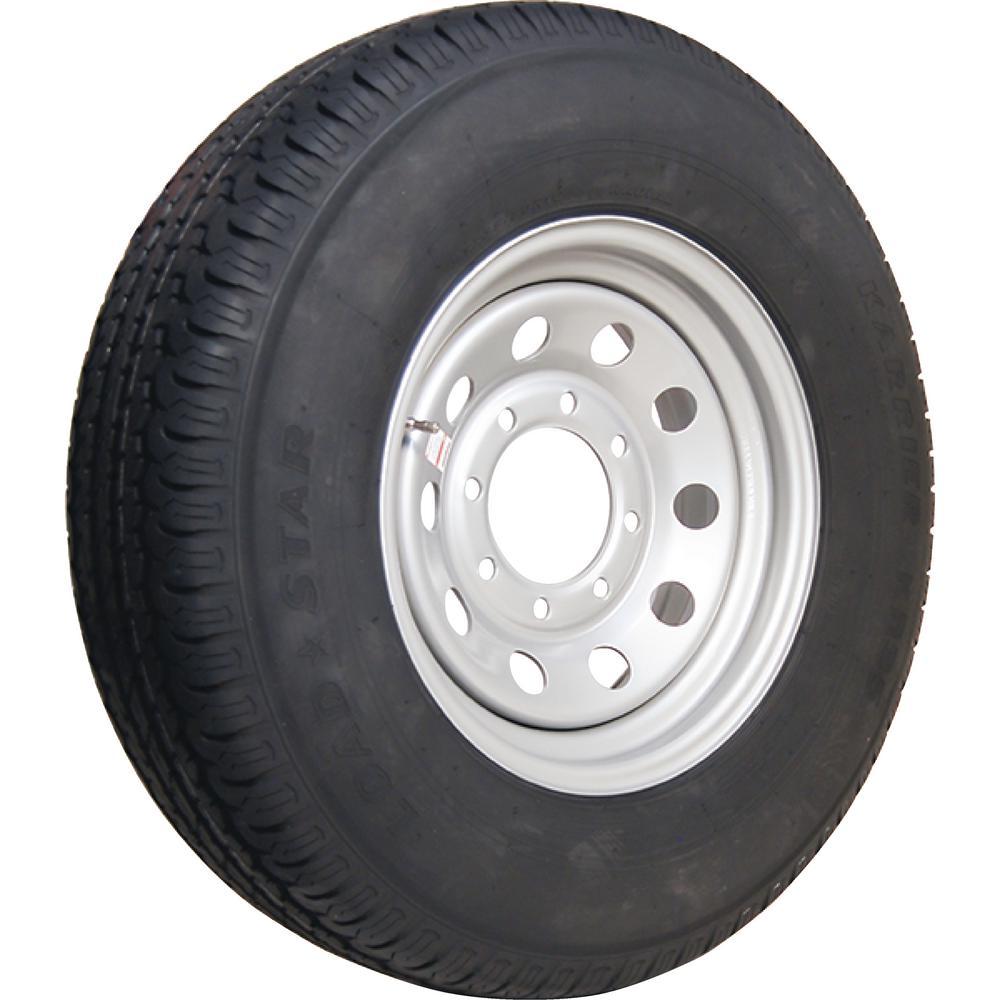 Loadstar 2830 lb. Load Capacity Galvanized Eight Spoke Steel Wheel Rim by Loadstar
