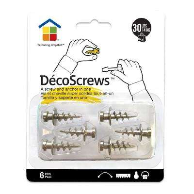 30 lbs. Deco Screws Nickel Sampler Pack