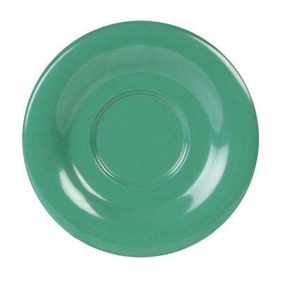 Coleur 5-1/2 in. Saucer for Cr313/Cr5044/Ml901/Ml9011 in Green (12-Piece)