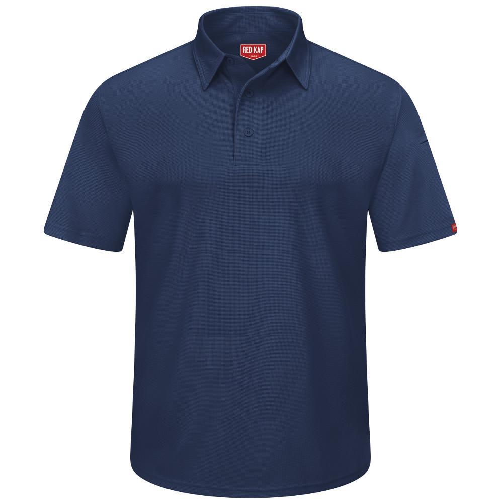 Men's Size 4XL Navy Professional Polo