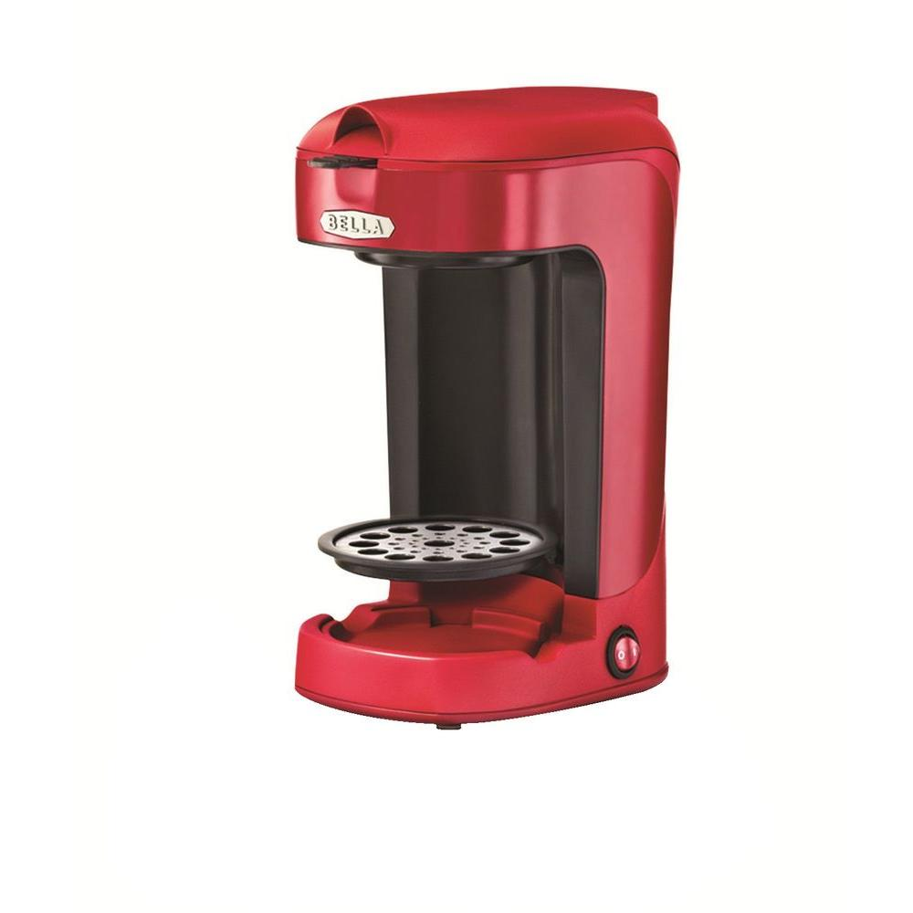 Bella 12 oz. Single Brew Coffee Maker in Red
