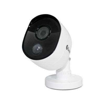 5MP Wired Dome Security Camera with PIR Motion Sensor and 100 ft. of Night Vision