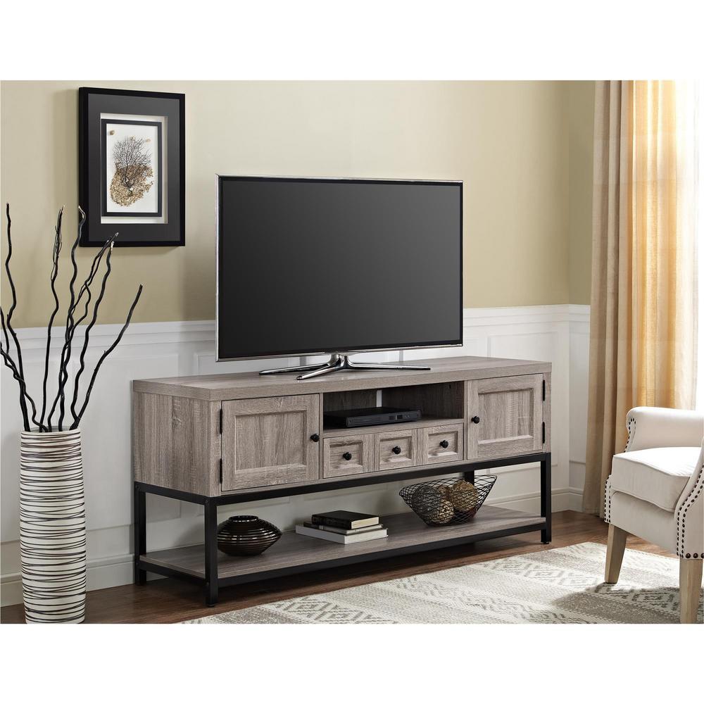 Sonoma Oak Multipurpose Tv Console
