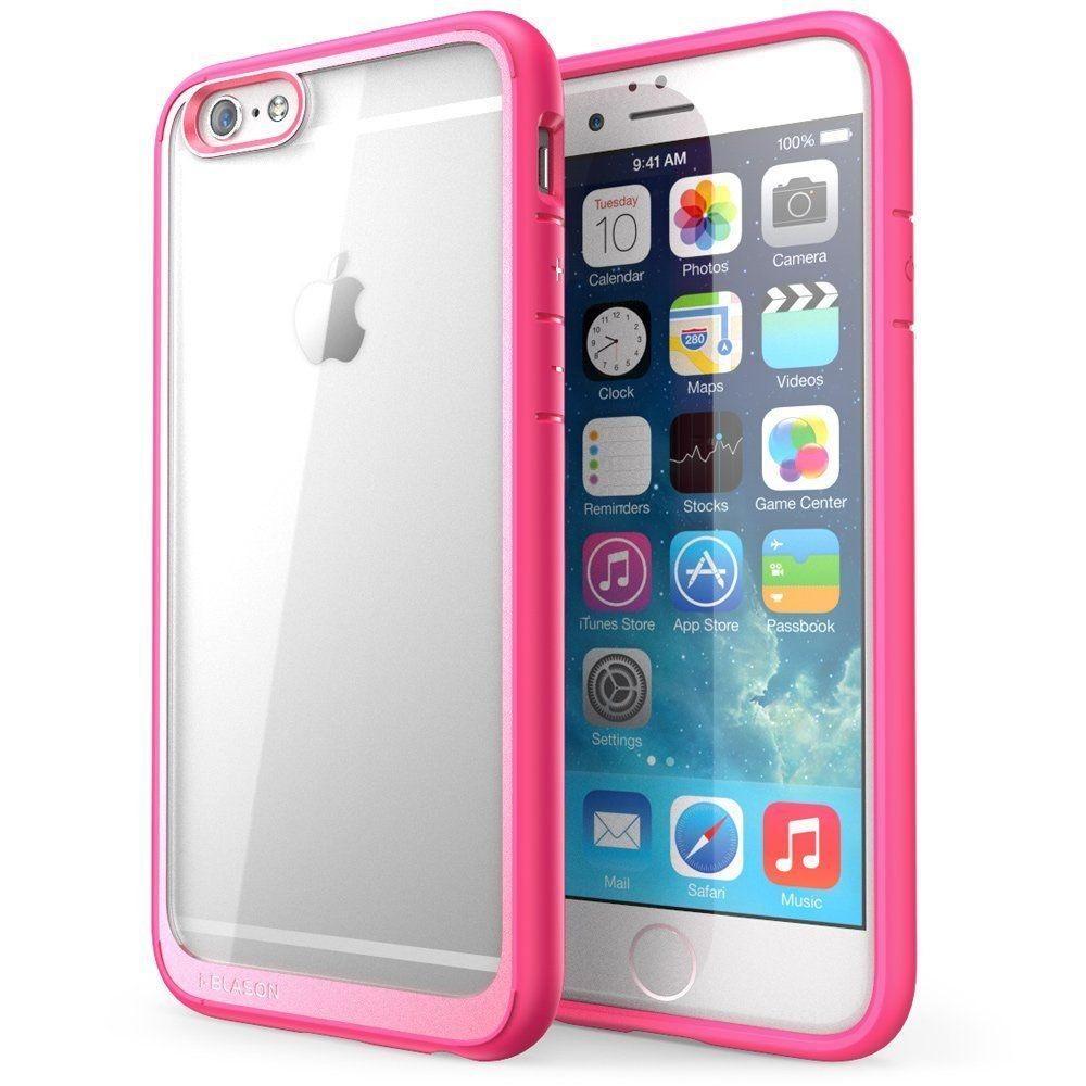 i-Blason Halo Series 4.7 in. Case for Apple iPhone 6/6S, Clear Pink