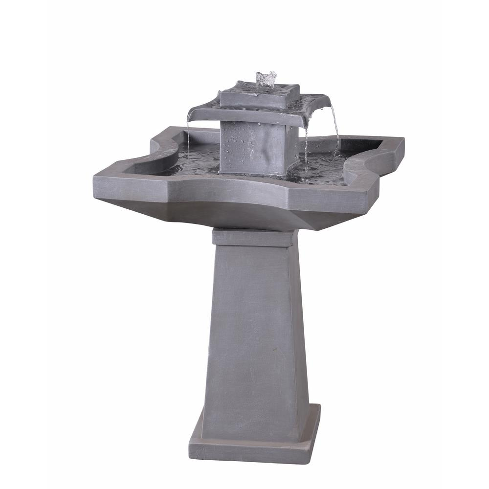 Kenroy Home Quad Resin Outdoor Floor Fountain-51057CON - The Home ...