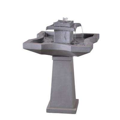 Quad Resin Outdoor Floor Fountain