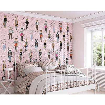 Animal Attraction Wall Mural