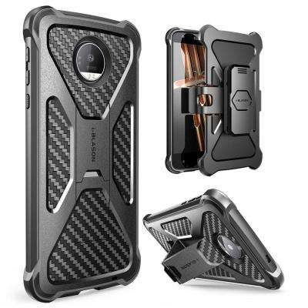 Motorola Moto Z Droid-Transfomer Case, Black