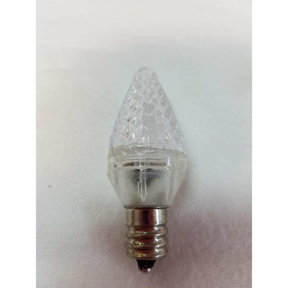 C7 Warm White LED Light Bulb (Pack of 25)