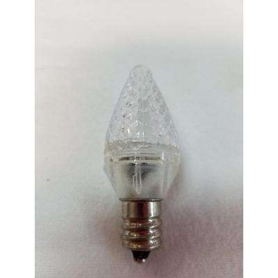 C7 Warm White LED Light Bulb (Pack of 25)